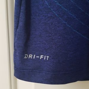 Nike Shirts - NIKE Dri-Fit Sport Shirt Blue Sz. Large